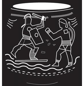 Roman vase - icon
