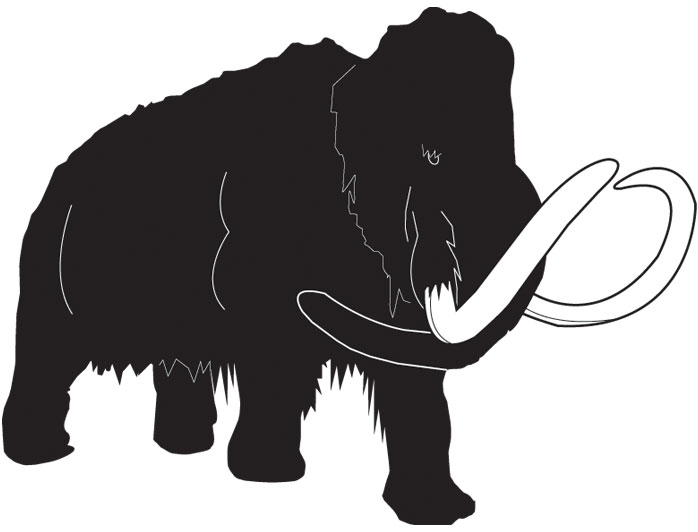 Woolly mammoth - icon