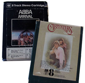 Abba and Carpenters tape