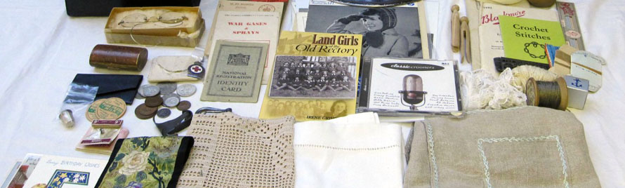 Contents of the Memory Lane memory box