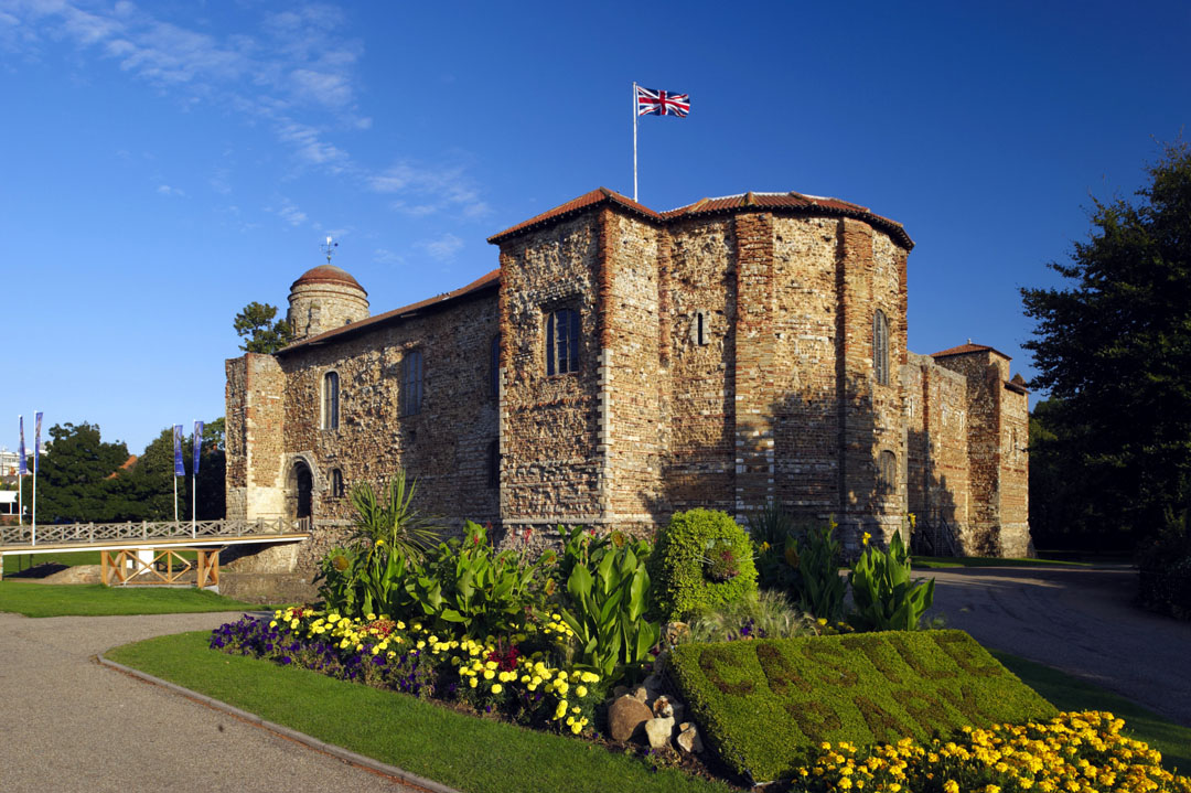 Colchester Castle on a sunny day