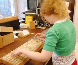 Daryl a museum volunteer