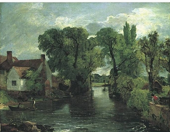 Willy Lott's Cottage by John Constable