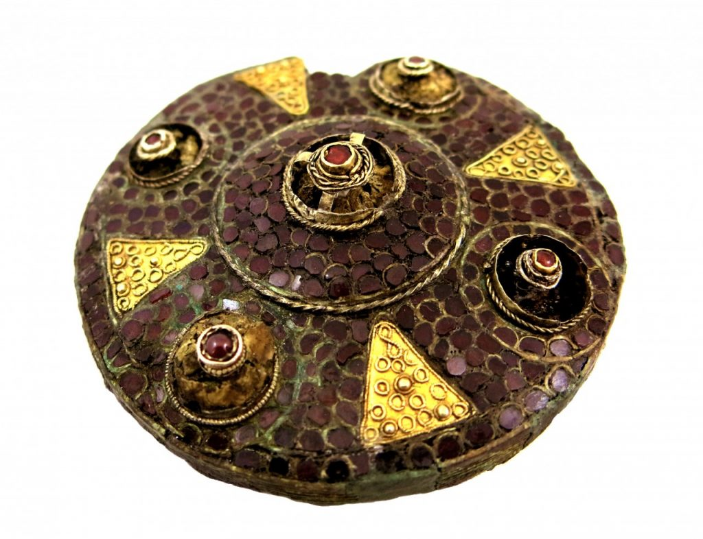 Boss Hall Brooch