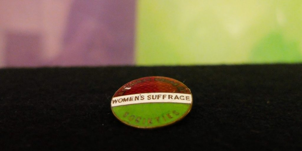 Womens Suffrage badge