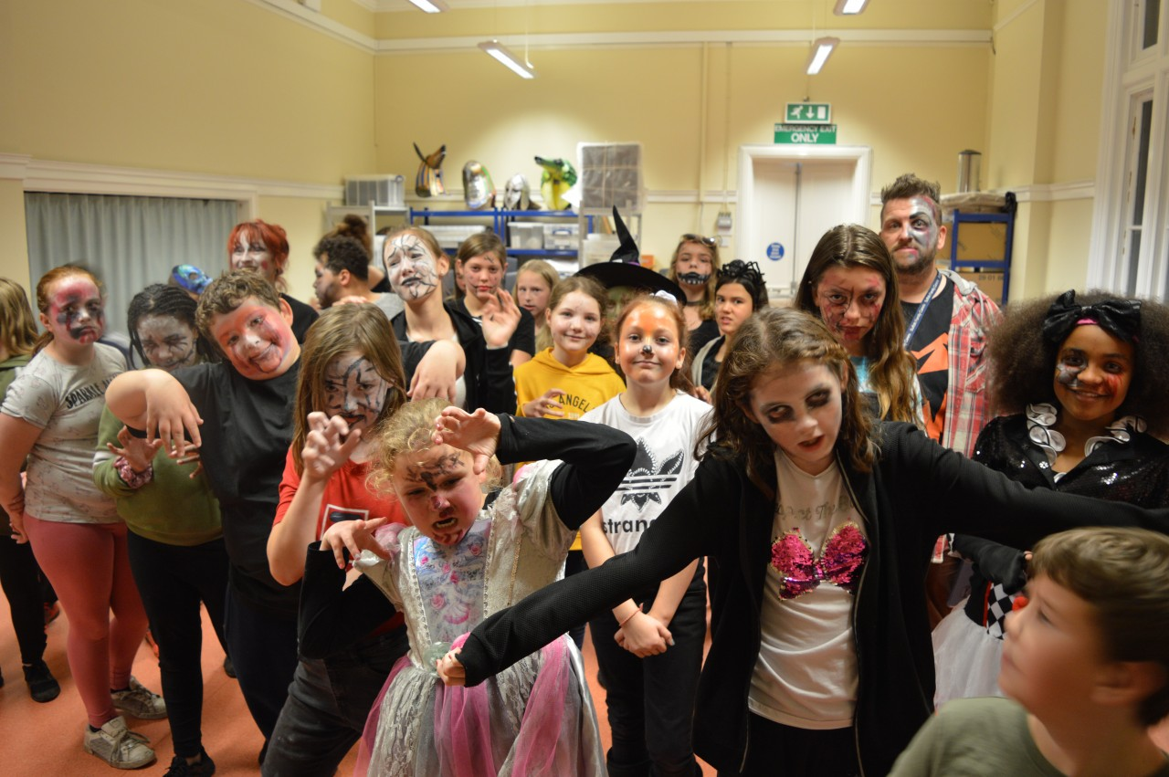 Suffolk Family Carers Hallowe'en event - fancy dress