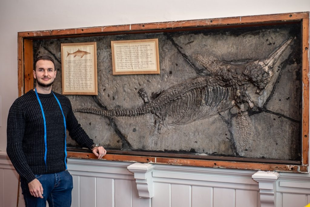 Researching the Ichthyosaur at Ipswich Museum