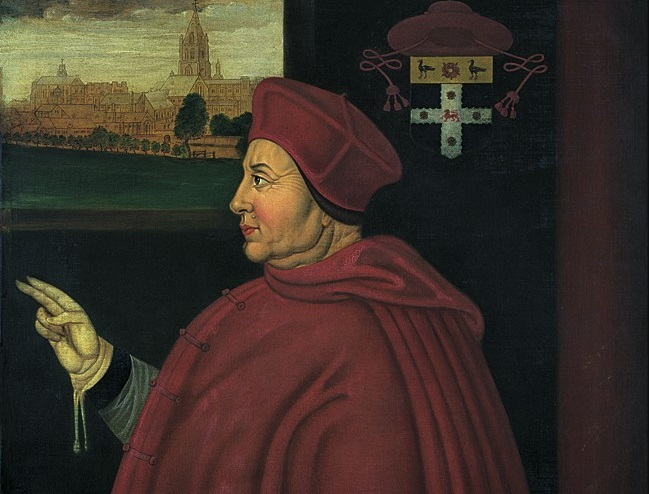 Thomas Wolsey portrait