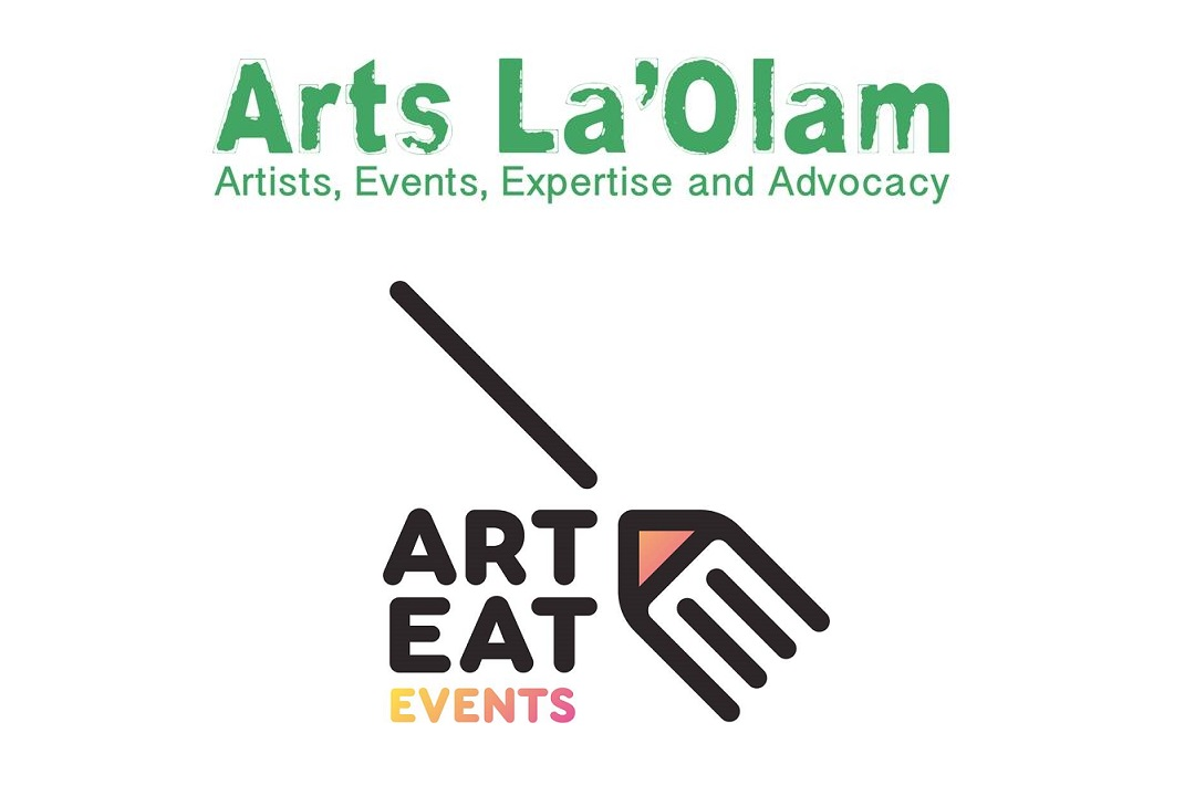 Logos for Arts LaOlam and Art Eat Events